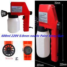 600ml 0.8mm Electrical Paint sprayers Gun Nozzle Paint Spray Guns Universal 220V