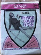 Vintage Calypso Pastel Ironing Board Cover * New* 1968 - Green