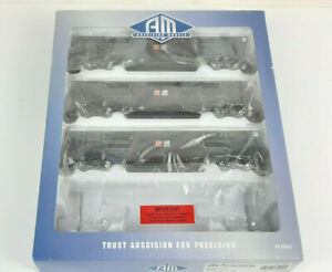 AUSCISION NSWR JLX BOGIE VANS X 3 BLUE/GREY VERY GOOD CONDITION BOXED HO(VH)