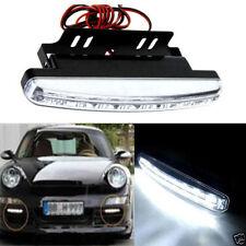 8 LED Daytime Driving Running Light DRL Car Fog Lamp Waterproof DC 12V WHolesale