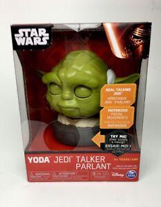 Disney Star Wars Yoda Spin Master Yoda Talker Motorized Facial Movements