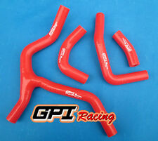 silicone radiator hose for HONDA CRF450 CRF450R CRF 450 R 2013 2014 RED