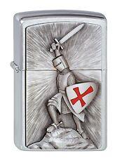 Zippo essence briquet croisade Victory Templiers neuf dans sa boîte Nouveau en Allemagne sans frais de port