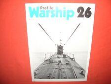 Warship Profile 26, U-Boot RUBIS French Submarine