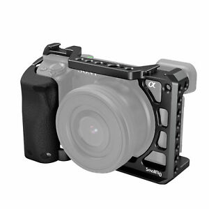 SmallRig Camera Cage with Silicone Handgrip for Sony a6400/a6300/a6100 -3164
