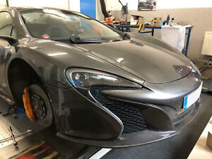 WERTEC McLaren 650S / 650 Spider / 600LT FULL CARBON BUMPER UNDER TRAY 11A7619CP
