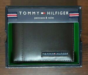 Tommy hilfiger mens leather wallet (passcase & valet)