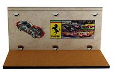 Diorama présentoir Ferrari Museum/Showroom - 1/43ème - #43-2-C-C-012