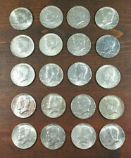New ListingRoll (20) Kennedy Half Dollars 40% Silver $10 Face Value .