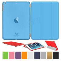 Leather Smart Sleep/Wake Magnetic Case Cover For APPLE iPad Air 6 5 4 3 2 Mini