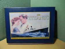 TITANIC - 1997 VHS Collector's Edition: 2 Tapes + 24 page booklet & filmstrip