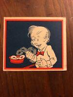 1934 R56 General Gum Co. Funnies Original Card SCARCE