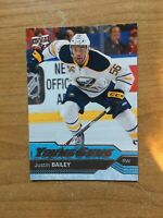 2016-17 UD SERIES 1 JUSTIN BAILEY YOUNG GUNS RC SP ROOKIE #246