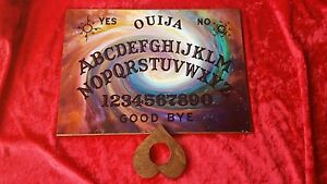 Classic Wooden Ouija Board Spirit Psycho & Planchette Instructions paranormal