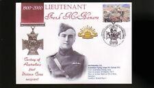 Australian Anzac Victoria Cross 100th Anniv Cov, Lt Frank McNamara