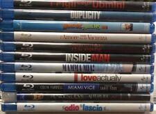 Pacco 11 Blu-ray Nuovi BlueRay Sigillati Miami Vice Duplicity Mamma Mia 3D dvd