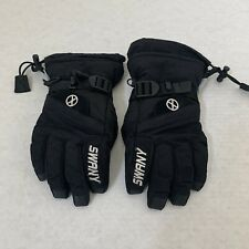 Swany Gloves Ladies Size Small Black.