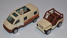 Buddy L Winnebago & Jeep Pressed Steel 1980s