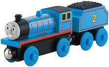 Thomas & Friends WOODEN RAILWAY Train Edward 100% Authentic Wood