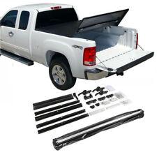 Fit 2007-2013 Chevy Silverado 5.8ft Bed Tri-Fold Soft Tonneau Cover Assemble