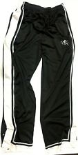 AND 1 Mens BasketBall Warm up Snap off PantsTearaway Black White XL
