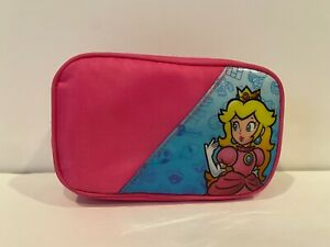 Nintendo DS Carry Case - Pink - Super Mario Princess Peach - Free Shipping