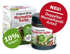 Röck Murmeltiersalbe Naturprodukt mit verbesserter Rezeptur Inhalt je100ml