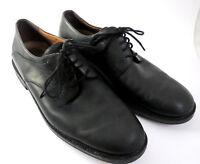 Men's JOHNSTON MURPHY Size 13 M Black Leather Lace Up Oxford Dress Shoes Casual