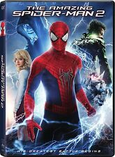 The Amazing Spider-Man 2 (DVD, 2014, Includes Digital Copy; UltraViolet)