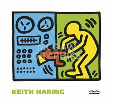 Untitled, 1989 (machine) by Keith Haring Art Print Pop Poster 22x24