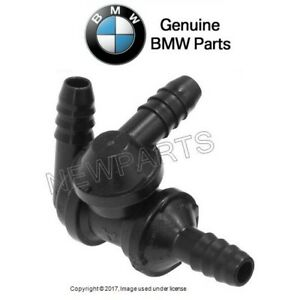 For BMW E39 540i 97-99 Check Valve for Brake Booster Genuine 34331163915