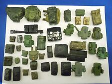 Vintage Lot of Accessories Packs Sheaths Dolls Military Adventure Action Figures