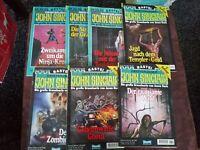 7 x John Sinclair 2.Auflage : 464, 467, 494, 507 - 510