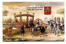1997  Vaticano Libretto  Carrozze e auto Pontificie   MNH**