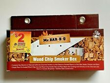 New Mr Bar B Q Wood Chip Smoker Box for Gas Electric or Charcoal Grill Stainless