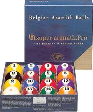 Belgian Super Aramith Pro Pool Table Billiard Balls Professional Ball Set - NEW!