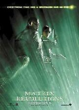 THE MATRIX REVOLUTIONS MOVIE POSTER ~ TRINITY MORPHEUS 27x39 Carrie-Anne Moss