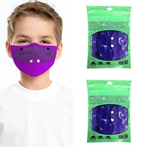 Kids Reusable Face Mask - Adjustable Face Mask, Washable, Breathable, Stretch