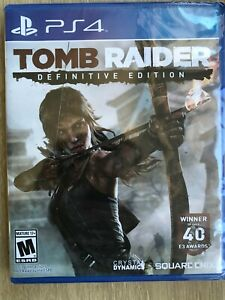 Tomb Raider Definitive Edition PS4 Brand New Sealed Fast Ship US Version