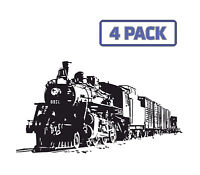 RAIL RIDER VINYL DECAL RAILROAD TRAIN LOCOMOTIVE STICKER FOR CAR AUTO VEHICLE