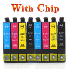 8pcs 220XL 220 XL Generic Ink for Epson Workforce WF-2760 WF-2750 Inkjet Printer