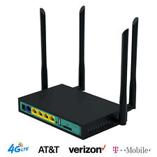 Cioswi WE2416 4G Wireless WiFi Router 5 Port Router SIM Card Slot AT&T T-Mobile