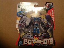 Transformers Botcon 2012 Bot Shots Optimus Prime signed by Peter Cullen MOC 1/75
