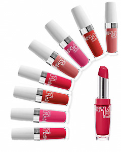 Maybelline 14 Hour Superstay Lipstick NEW Select your shade of 14 hr Colour