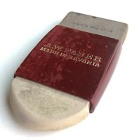 Vintage A. W. Faber Wood Cased Double Sided Eraser Made in Bavaria One Of A Kind