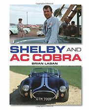 Shelby and AC Cobra New Hardcover Book Brian Laban