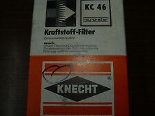 Kraftstfofffilter Knecht KC 46