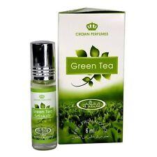 Green Tea 6ml By Al Rehab Perfume Oil Alcohol Free Mint Fresh Leaf