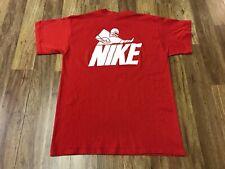 MEDIUM - Vtg 90s Nike Ole Miss Rebels Football Camp Single Stitch T-Shirt USA