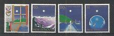 NUOVA Zelanda 1989 Natale SG, 1520-1523 U/mm NH LOTTO 2520a